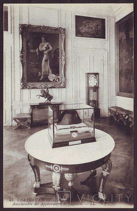 Франция. Дворец Фонтенбло. Приёмная аппартаментов Наполеона, фото №2