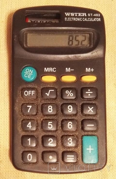 Карманный калькулятор Wster, фото №2