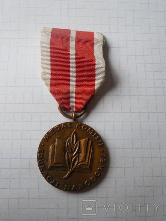 Медаль Национальной комиссии по образованию, Польша, фото №2