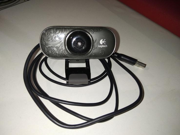 Вебкамера loqitech c210, фото №2
