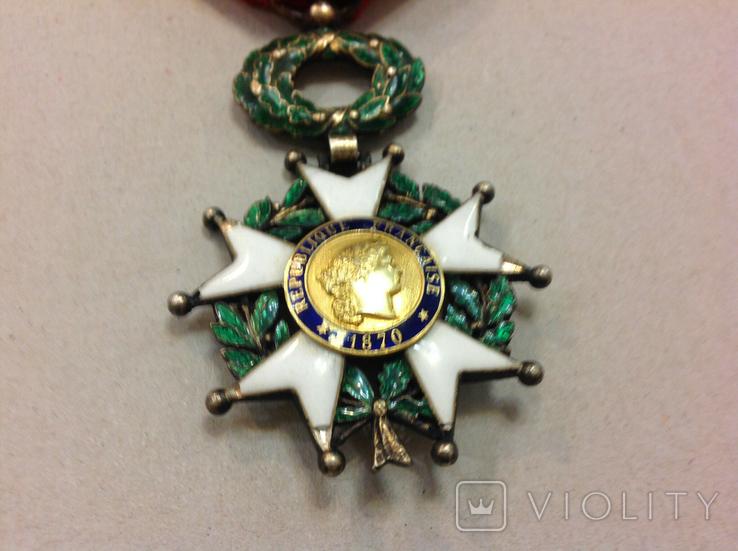 Крест Кавалера Ордена Почетного Легиона. Республиканский тип., фото №4