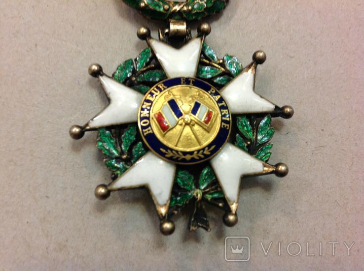 Крест Кавалера Ордена Почетного Легиона. Республиканский тип., фото №10