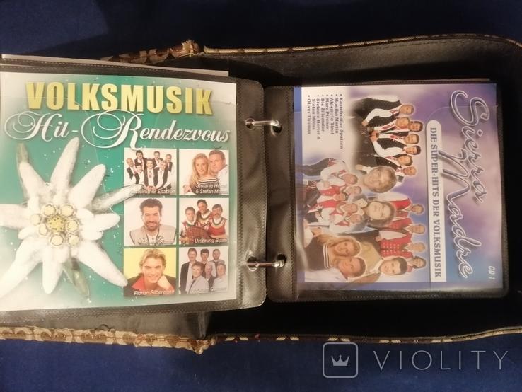 """Сумка для дисків """"CD LAND"""" та 9 компакт дисків., фото №8"""