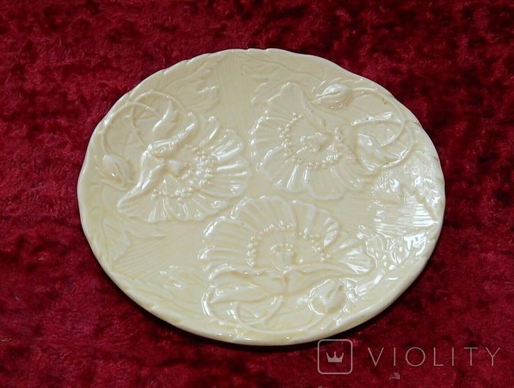 Очень старая тарелка маки, фото №2