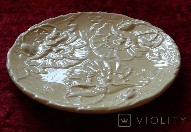 Очень старая тарелка маки, фото №4