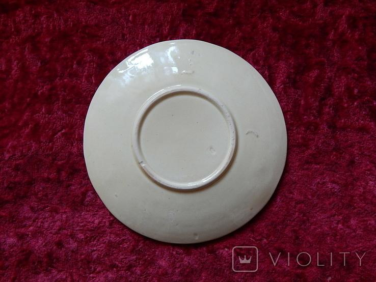 Очень старая тарелка маки, фото №5