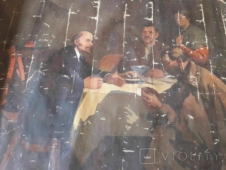 Картина Ленин, фото №4
