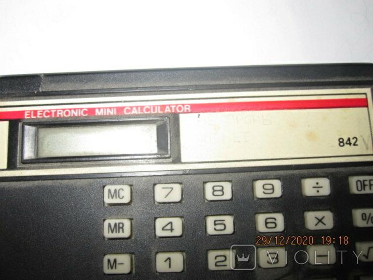 Калькулятор.842.мини, фото №3