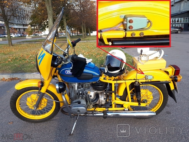 Блок с предохранителями от мотоцикла Урал ГАИ  или др. техника, фото №6