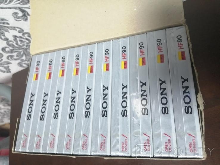 Упаковка аудиокассет Sony HF90n 2, фото №3