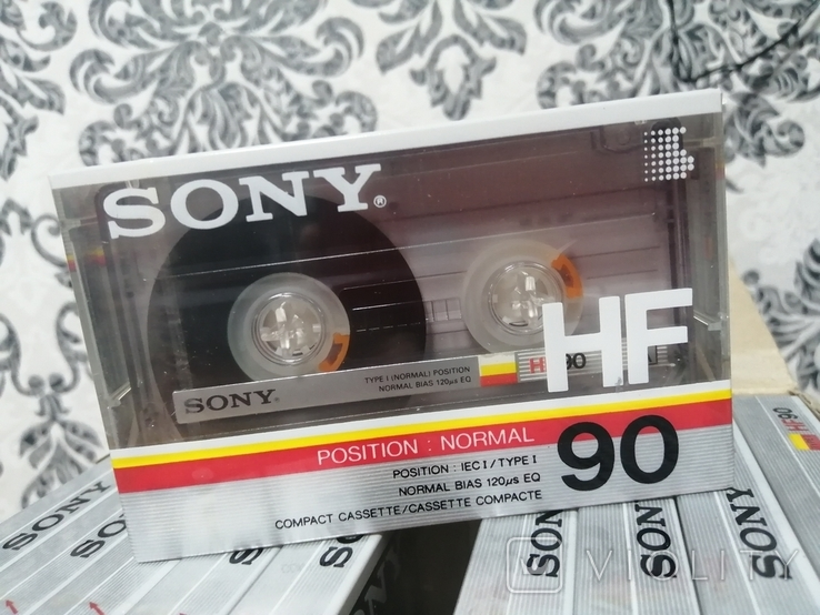 Упаковка аудиокассет Sony HF90n 2, фото №5