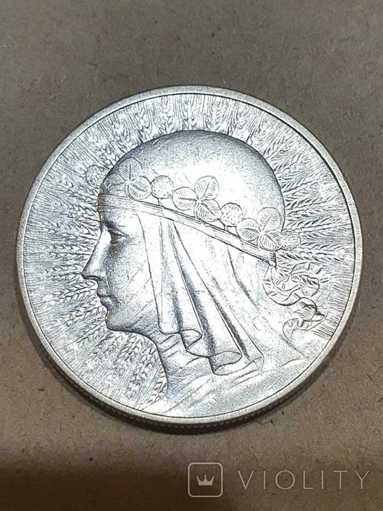 10 злотих Ядвіга   1932, фото №2