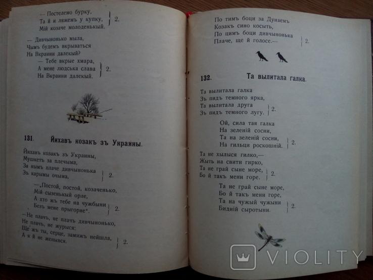 Бандурист сборник малорусских песен 1910 г, фото №5