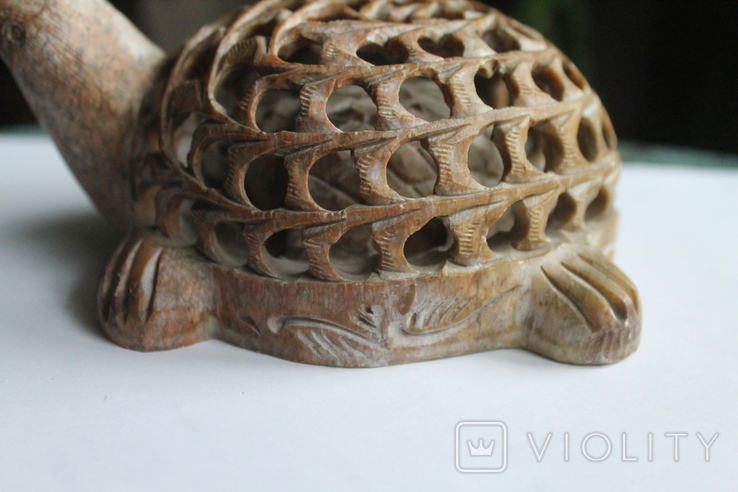 Черепаха в черепахе камень, фото №8
