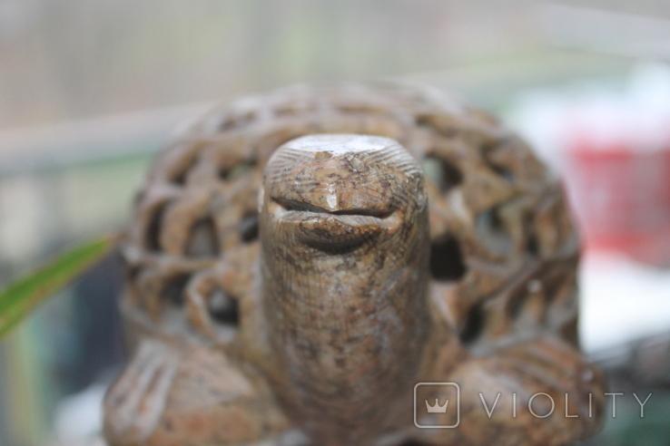 Черепаха в черепахе камень, фото №11