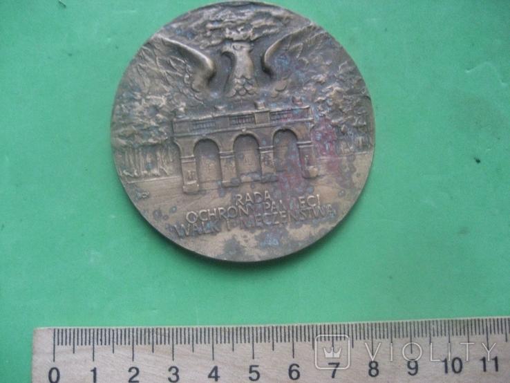 Настольная польская медаль № 2, фото №3