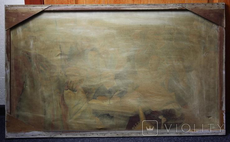 Картина  Козаки  96х58. Копия., фото №13