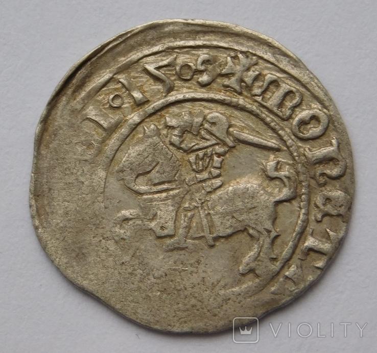 Полугрош 1509 ( всадник с ножнами ), фото №2