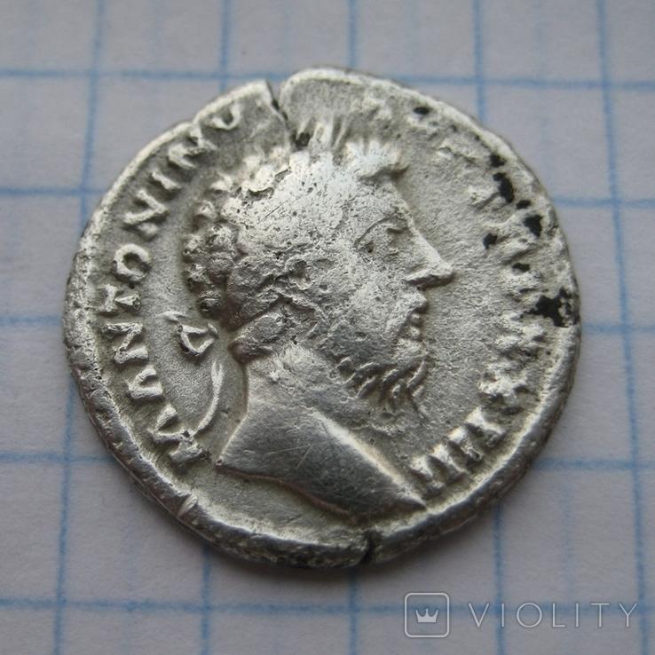 Денарий, Марк Аврелий, фото №2