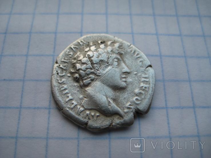 Денарий, Марк Аврелий (реверс - жертовный набор), фото №4