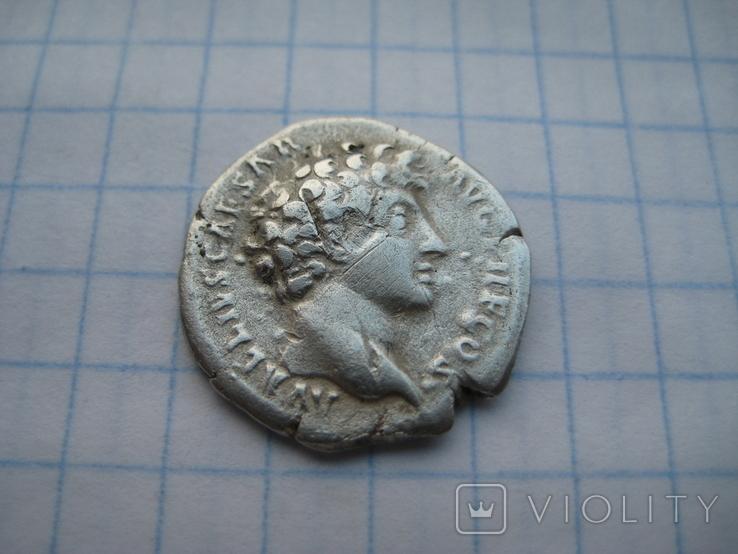 Денарий, Марк Аврелий (реверс - жертовный набор), фото №5