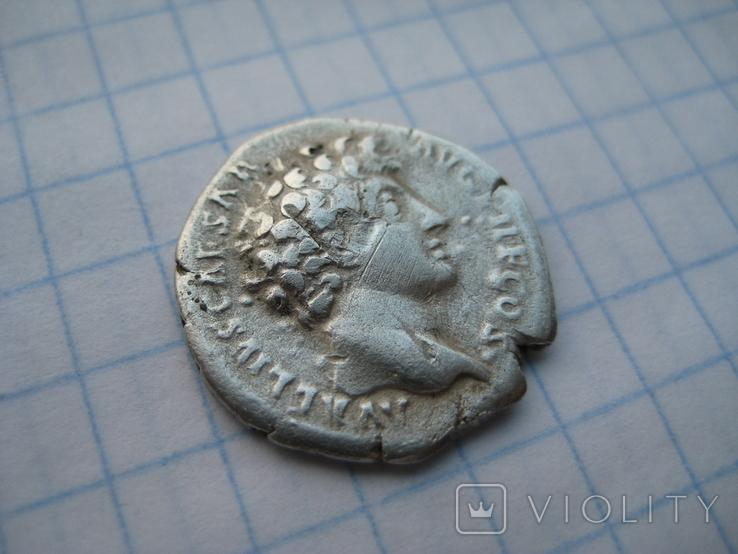 Денарий, Марк Аврелий (реверс - жертовный набор), фото №6