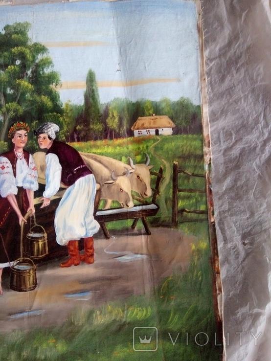 Сцена біля криниці, фото №4