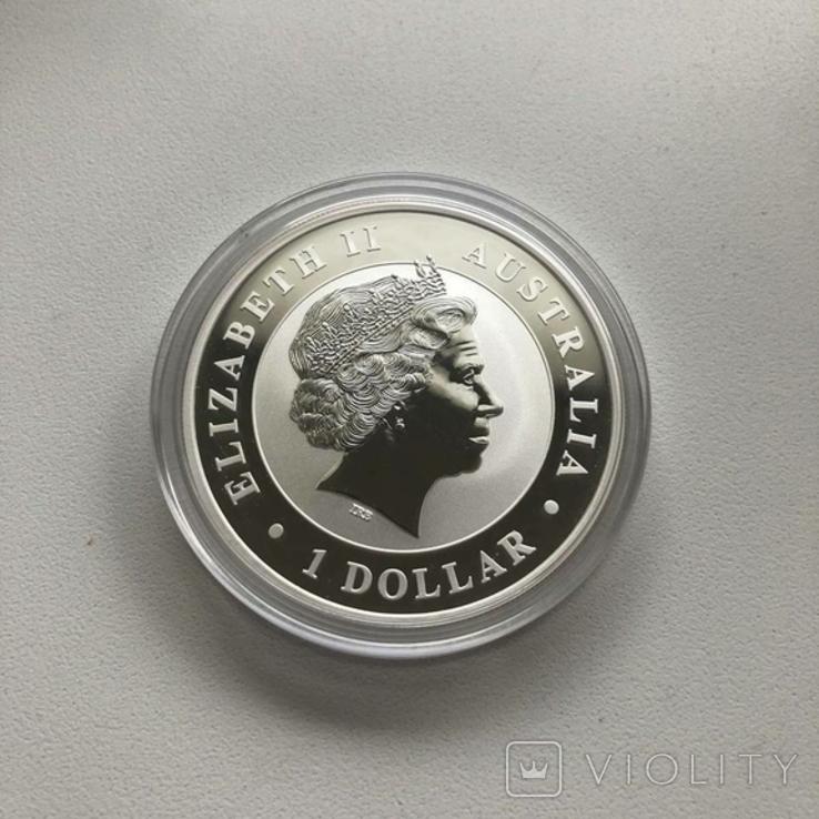 Австралия 2012 1 Коала 1 унция серебра 999, фото №3