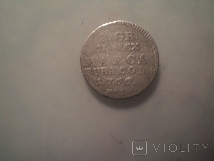 2 гроша 1766 г, фото №4