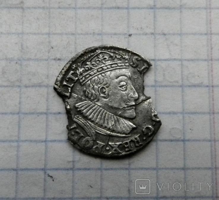 Три гроша 1589 г., фото №2