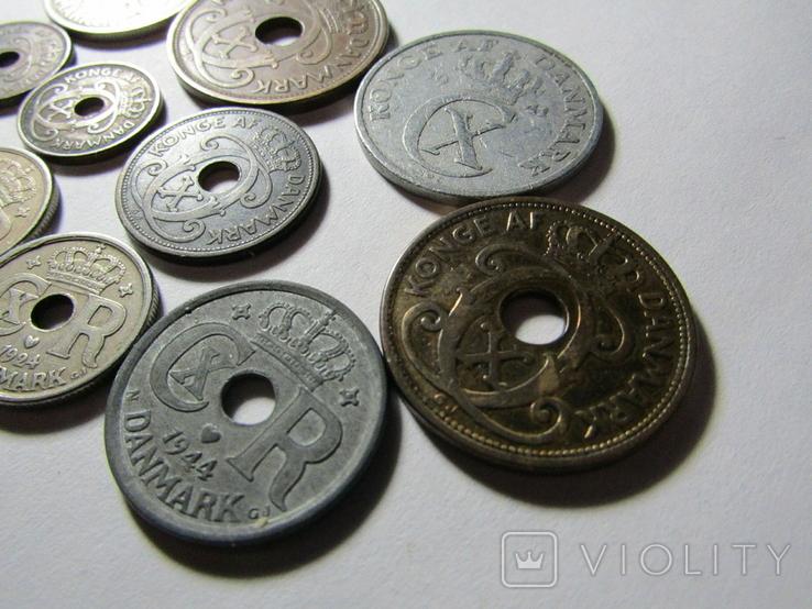 Монеты Дании 11шт., фото №7