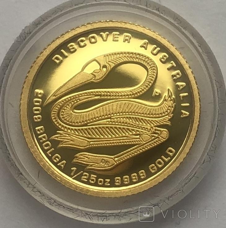 5 долларов 2009 года. Бролга. Австралия.
