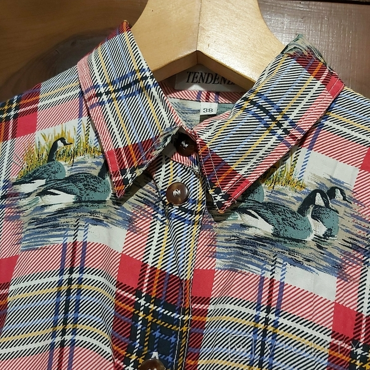 Женская блузка *Утки*, фото №6