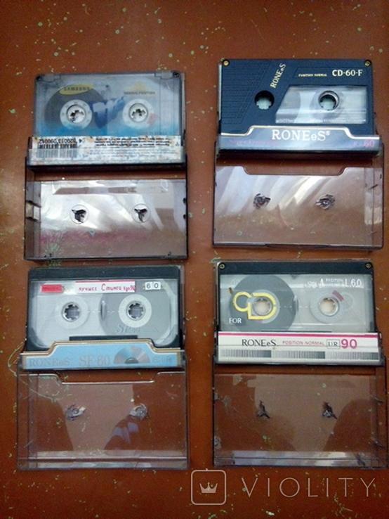 Аудиокассеты 4шт., фото №2