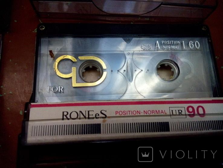 Аудиокассеты 4шт., фото №6