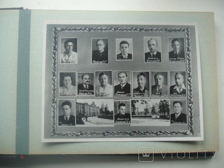 1958 Выпуск КПИ Киев Теплотехнический факультет, фото №5