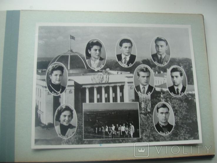 1958 Выпуск КПИ Киев Теплотехнический факультет, фото №11