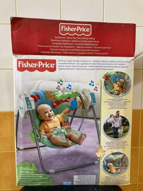 Детское кресло качалка Fisher Price, фото №2