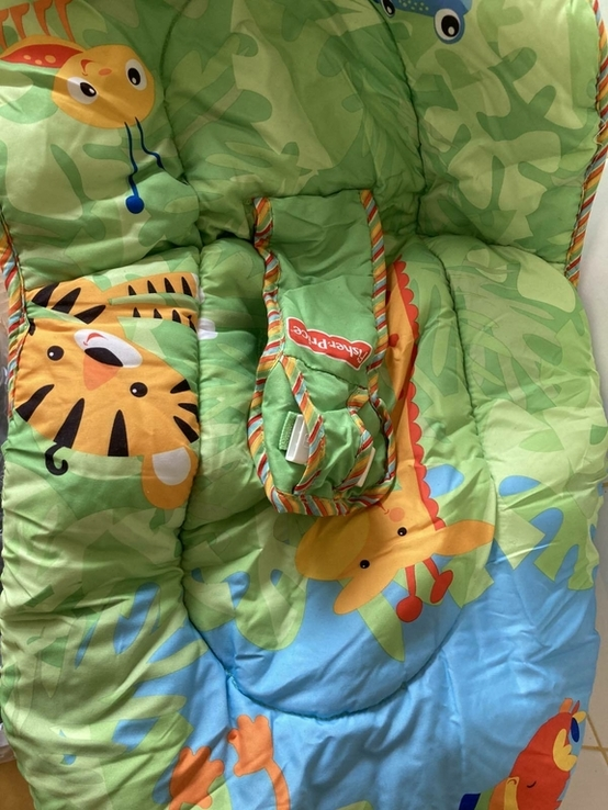 Детское кресло качалка Fisher Price, фото №4
