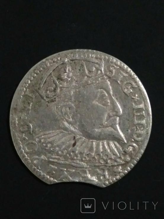Две монеты Сигизмунда lll, фото №6
