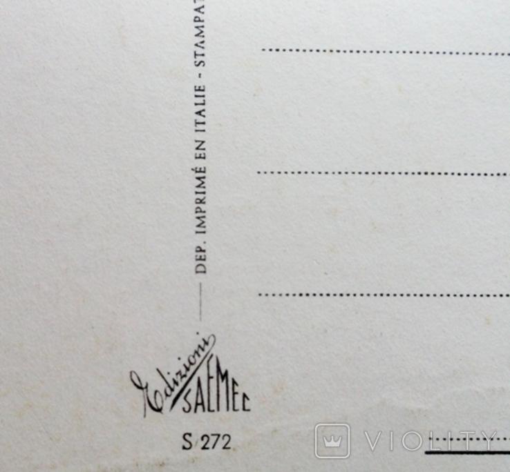 Открытки Франция, Италия. 4 шт., фото №9