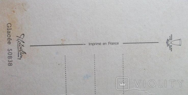 Открытки Франция, Италия. 4 шт., фото №10