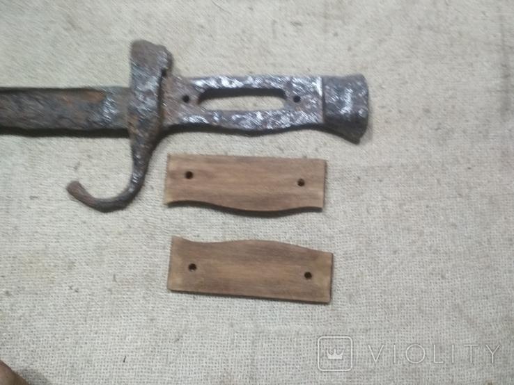 Накладки на штык нож Бертье копия, фото №4