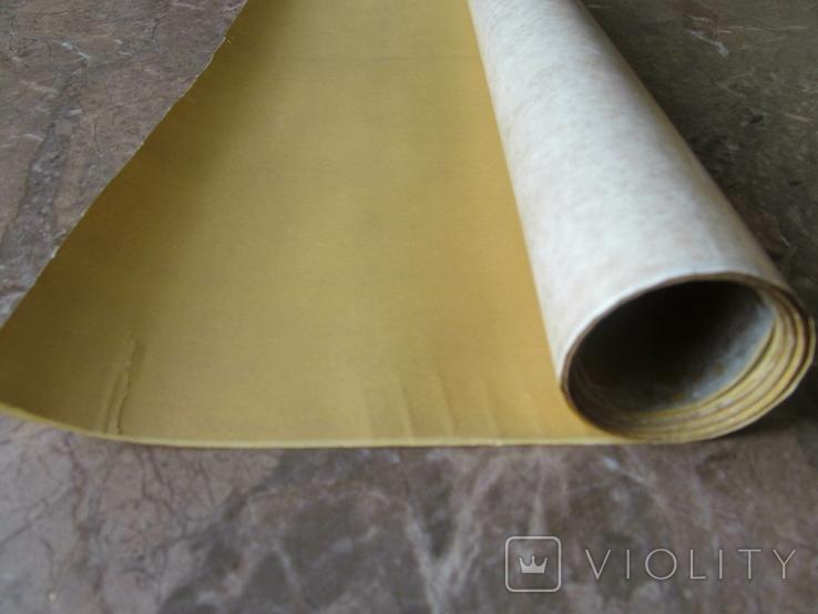 Термокалька золота (рулон-3.0м на 0.42м.), фото №2