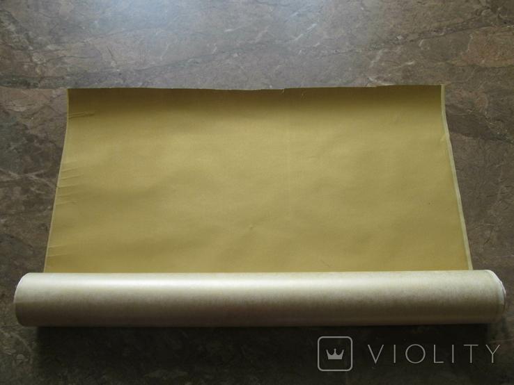 Термокалька золота (рулон-3.0м на 0.42м.), фото №3