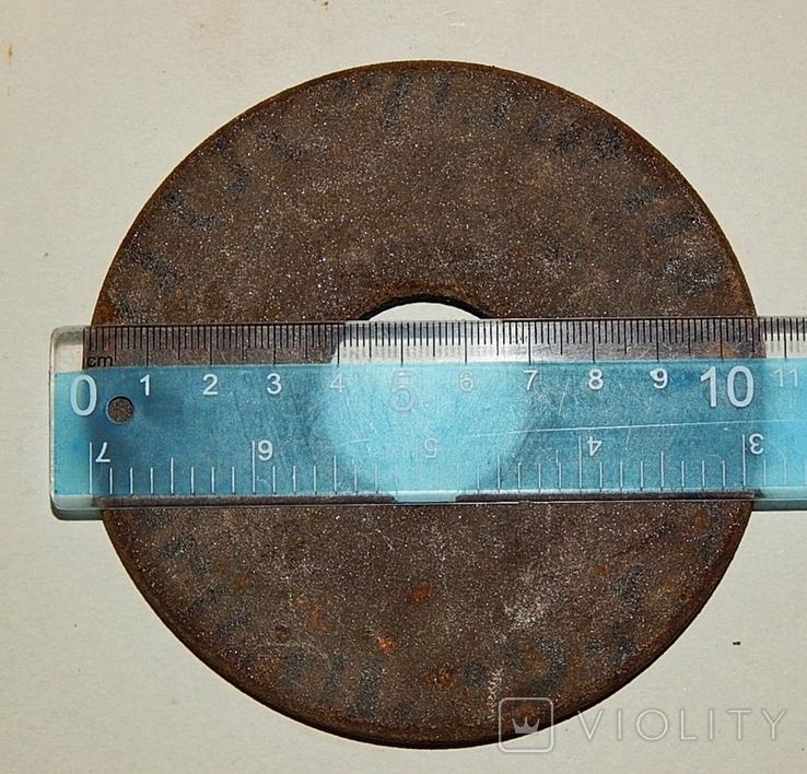 Резина абразивный Круг Ссср, фото №3