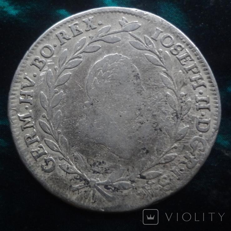 20 крейцеров 1787 Бавария Йозеф, фото №5