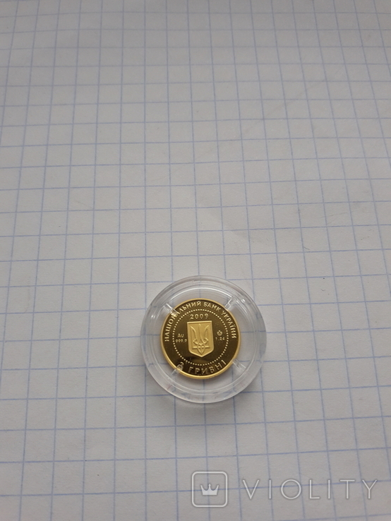 Монета 2гр. Черепаха золото, фото №7