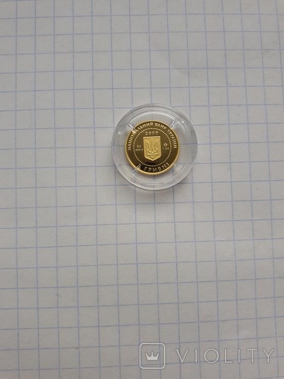 Монета 2гр. Черепаха золото, фото №8