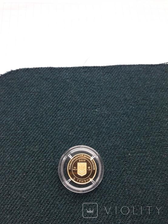 Монета 2гр. Черепаха золото, фото №10